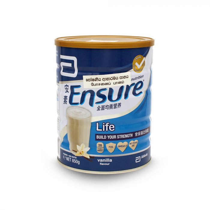 ENSURE VANILA NUTRITION MILK 850G