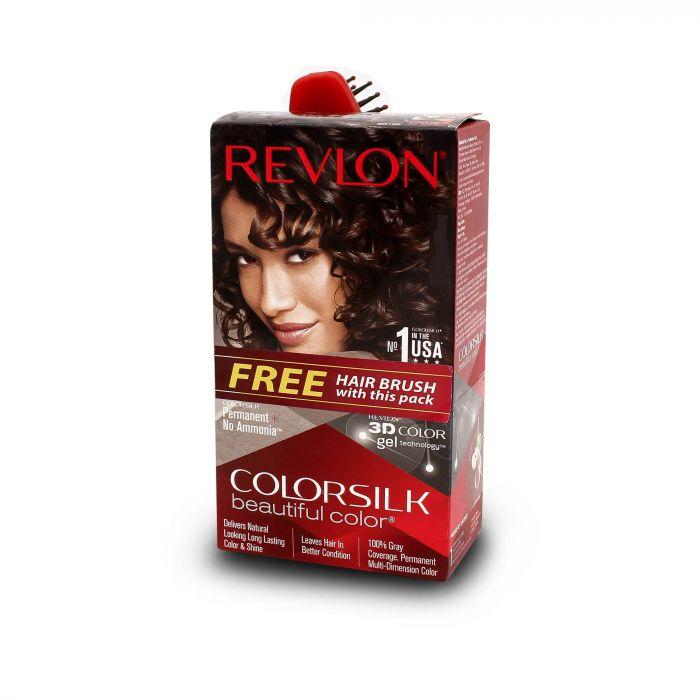 REVLON COLOR SILK 3D BROWN BLACK 2N