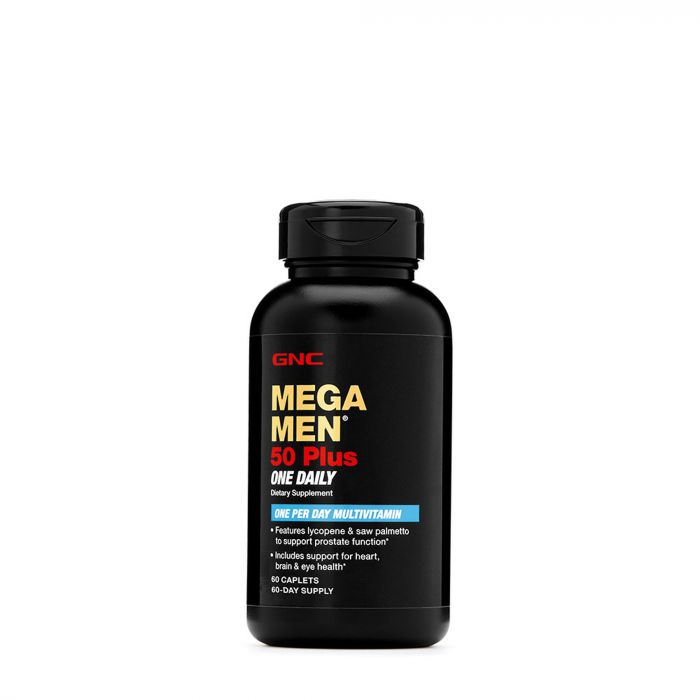 GNC MEGA MEN 50PLUS DAILY 60CAP 179522