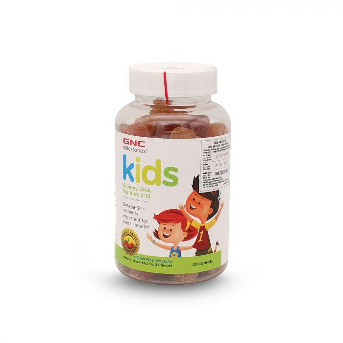 GNC KIDS DHA FOR KIDS 2-12 120GUM 102821