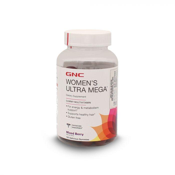 GNC WOMENS ULTRA MEGA 120 GUM 102994