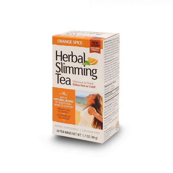 HAL HERBAL SLIMMING TEA ORANGE  24TB