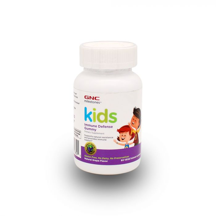 GNC KIDS IMMUNE DEFENSE 60GUM