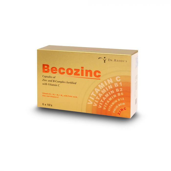BECOZINC CAP 60S
