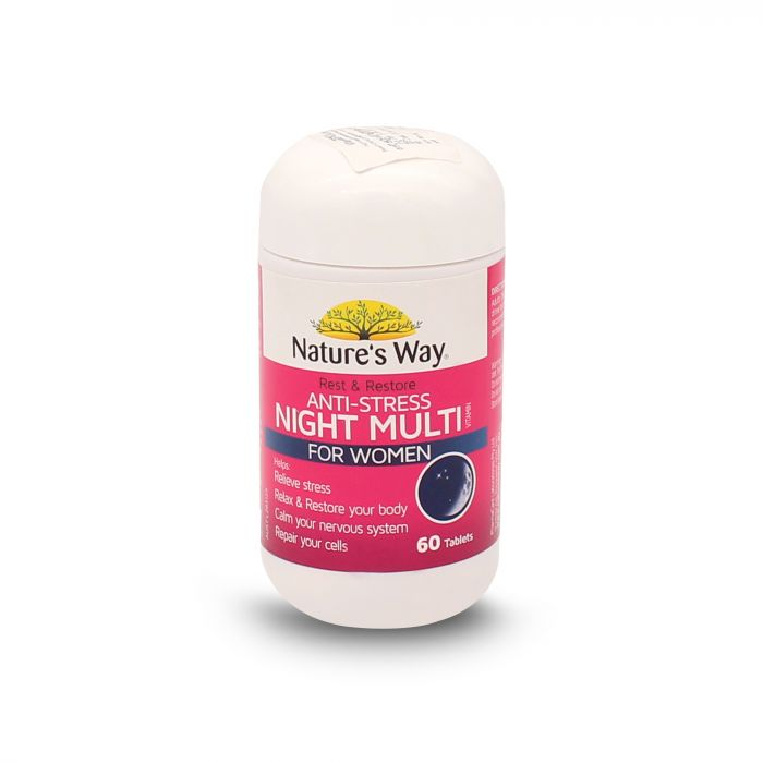 NATURES WAY R&R NIGHT MULTIVITAMIN WOMEN