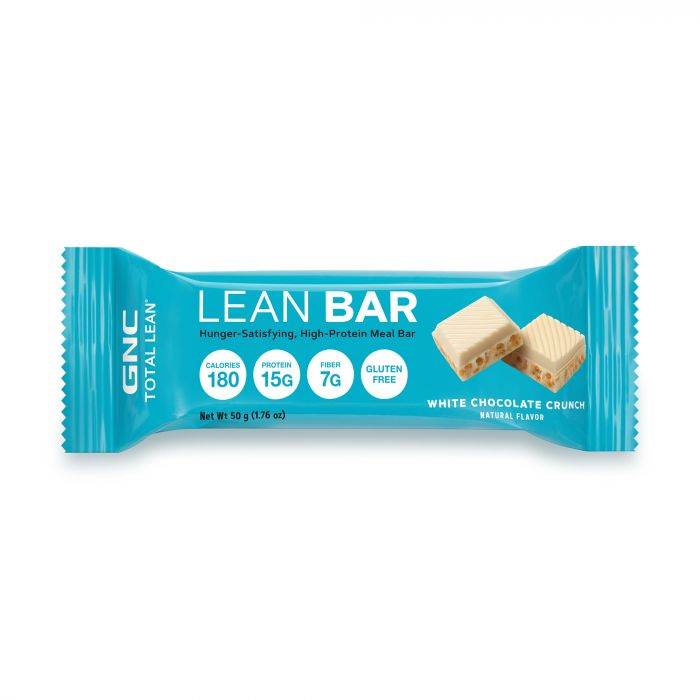 GNC LEAN BAR WHITE CHOC CRUNCH496865