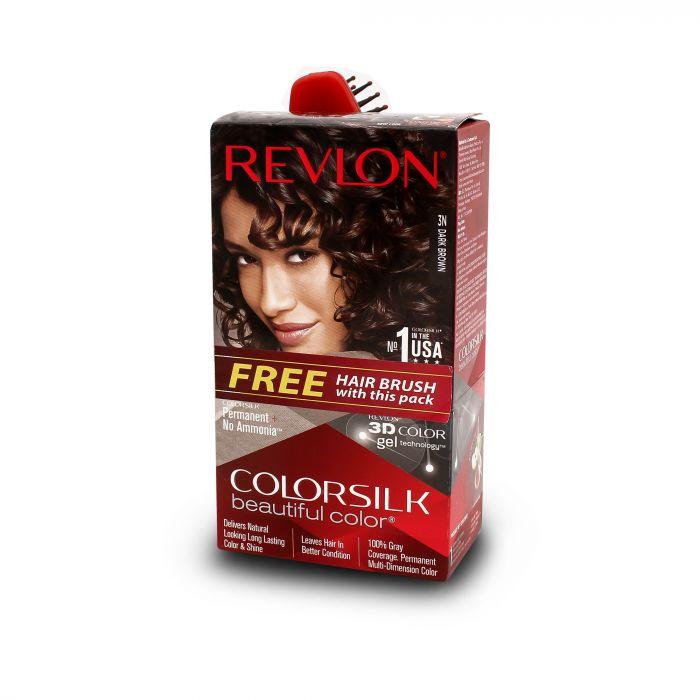 REVLON COLOR SILK  3D -DARK BROWN 3N