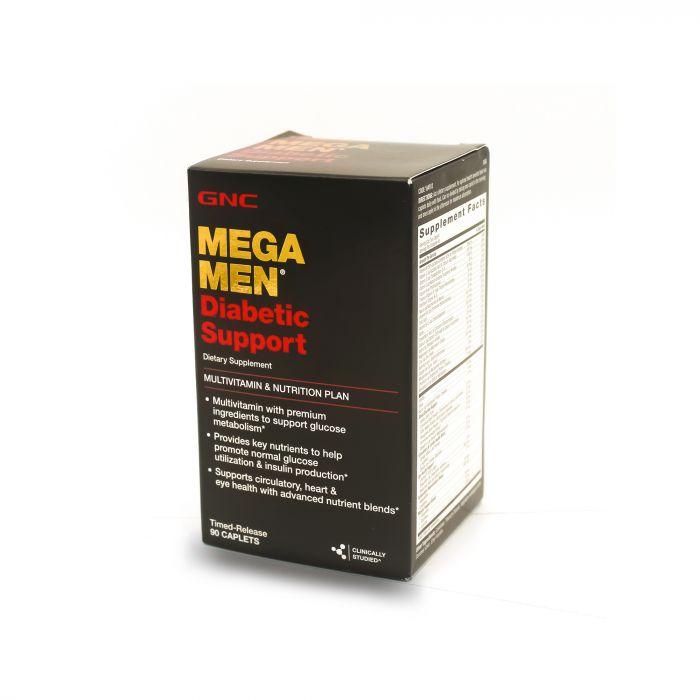 GNC MEGA MEN DIABETIC SUPPORT 90CAP