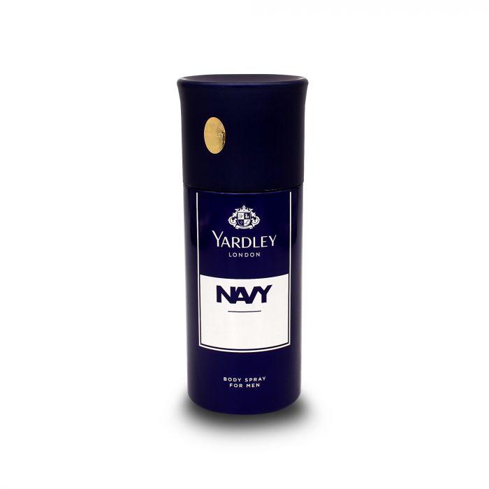 YARDLY  NAVY BODY SPRAY FOR MEN 150ML