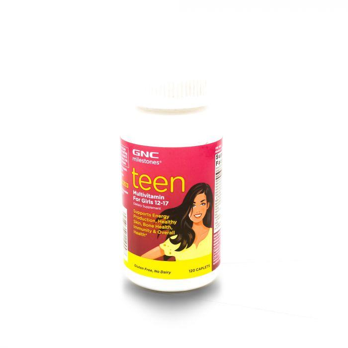 GNC TEEN MULTIVITAMIN FOR GIRLS 120CAP