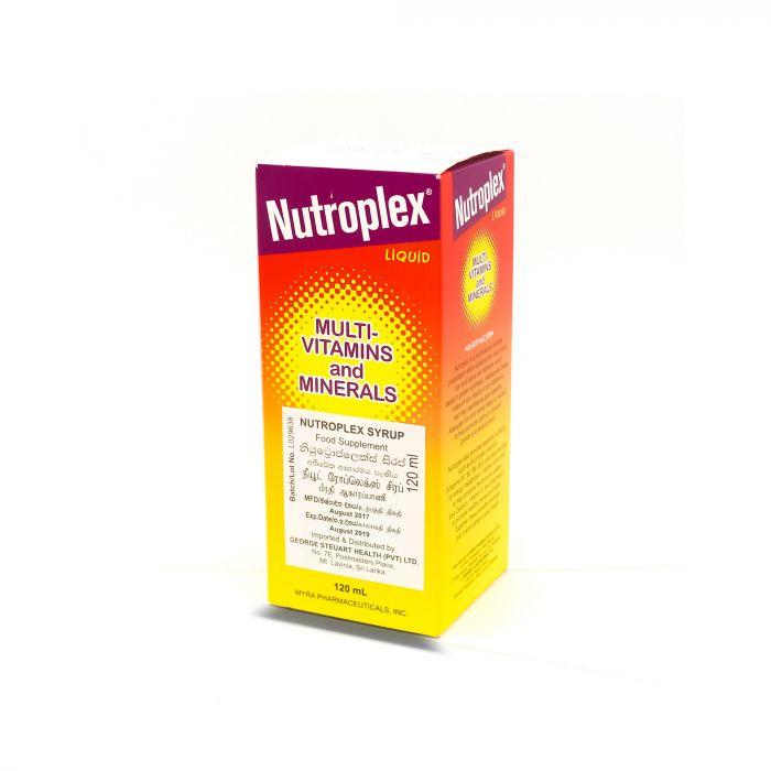 NUTROPLEX SYRUP 120ML