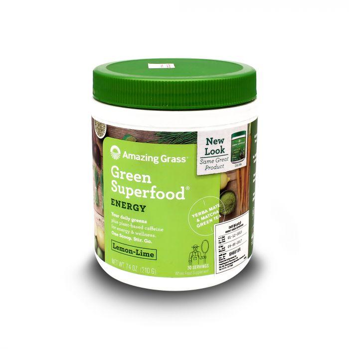 AG GREEN SUPERFOOD LEMON LIME 210G