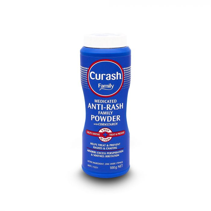 CURASH ANTI RASH FAMILY POWDER 100G