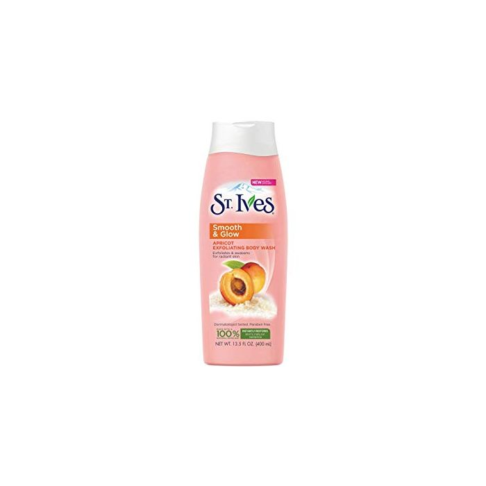 ST IVES SMOOTH GLOW BODY WASH 400ML