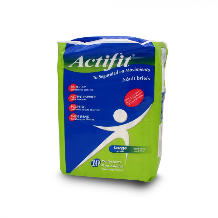 ACTIFIT ADULT DIAPERS LARGE
