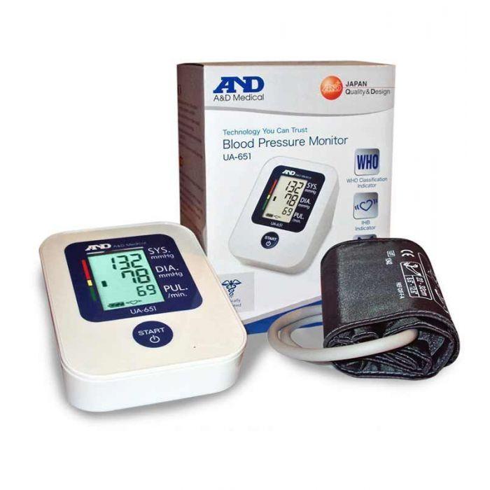 AND MEDICAL BLOOD PRESSURE MONITOR UA - 651