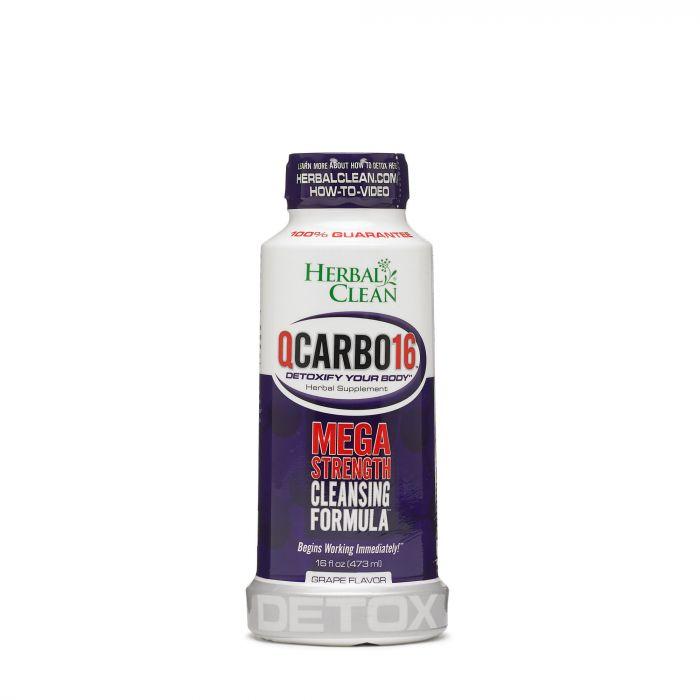 HERBAL CLEAN QCARBO 16 GRAPE 473ML 726066