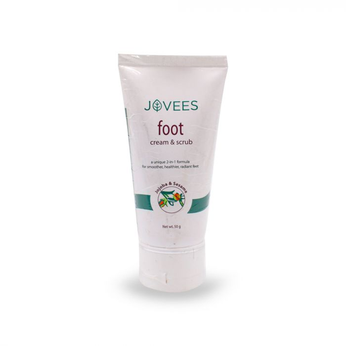 JOVEES FOOT CREAM AND SCRUB 50G