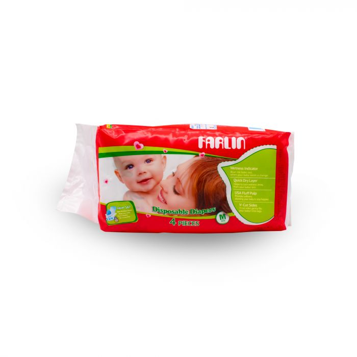 FARLIN MEDIUM DIAPERS 4PIC