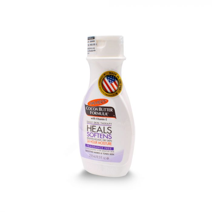PALMER S COCOA BUTTER FRAGRANCE FREE LOTION