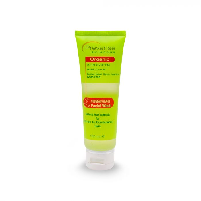 PREVENSE STRAWBERRY & ALOE FACE WASH 120ML