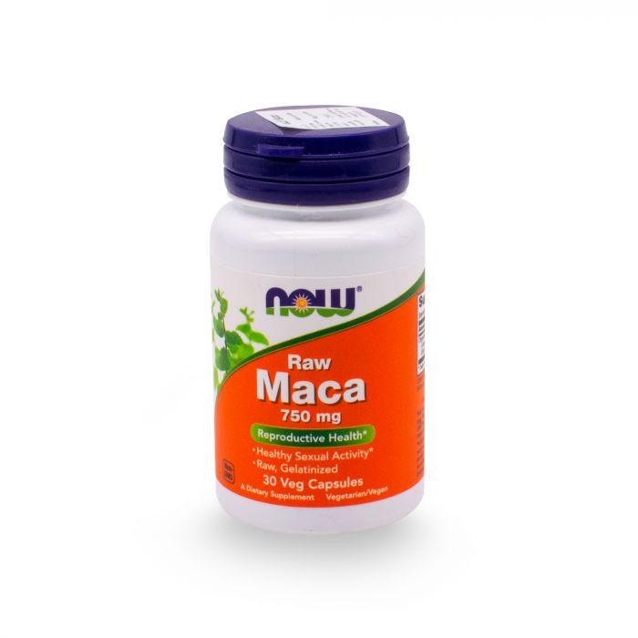 NOW RAW MACA CAP 30S