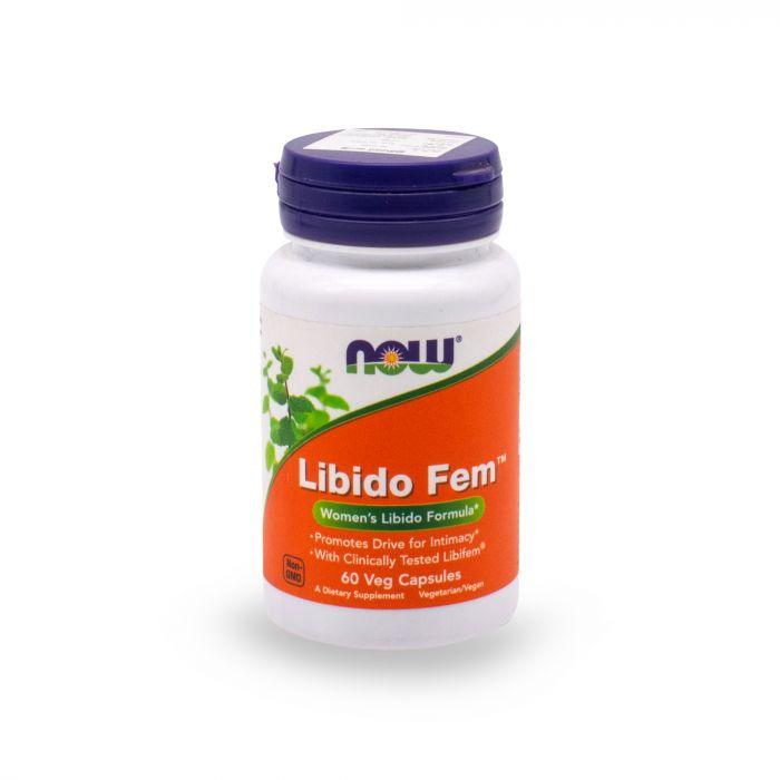 NOW LIBIDO FEM CAP 30S