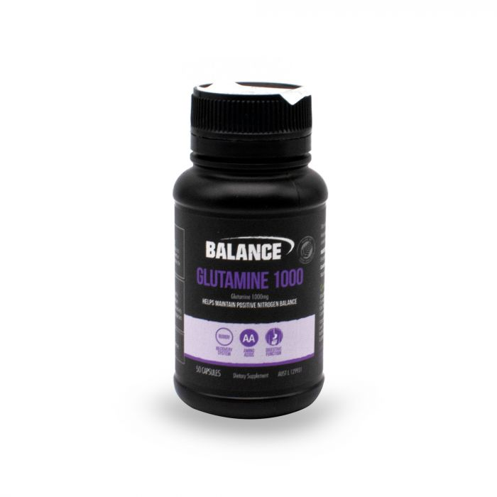 BALANCE L-GLUTAMINE 1000MG 50 CAPS