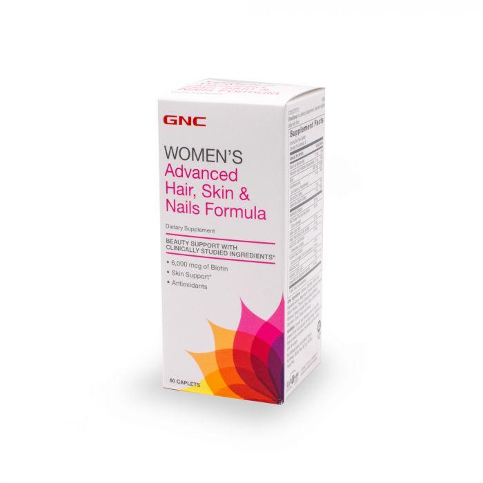 GNC WOMENS ADVANCED HAIR SKIN NAIL 60CAP