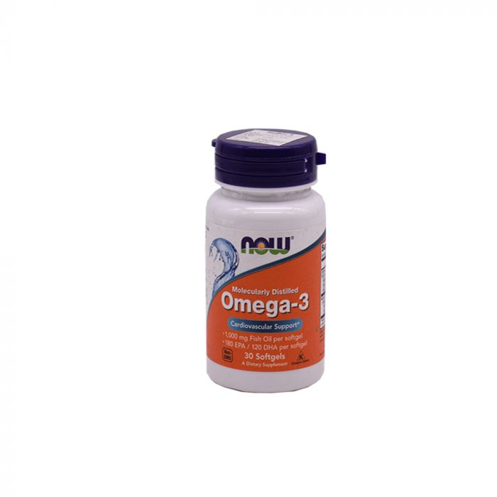 NOW OMEGA 3 CAP 30S