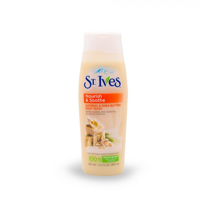 ST IVES NOURISH & SOOTHE BODY WASH 400ML