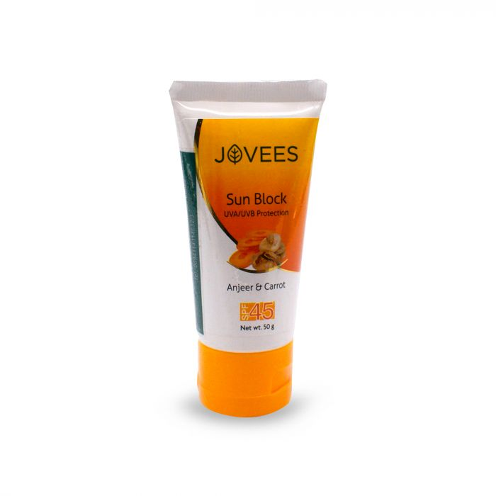 JOVEES SUN BLOCK UVA SPF45 50G