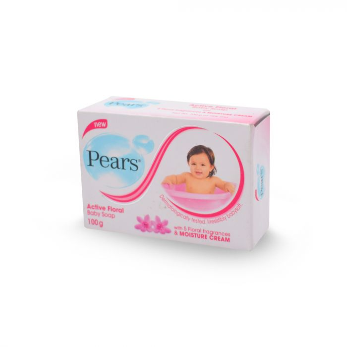 PEARS ACTIVE FLORAL SOAP 100G