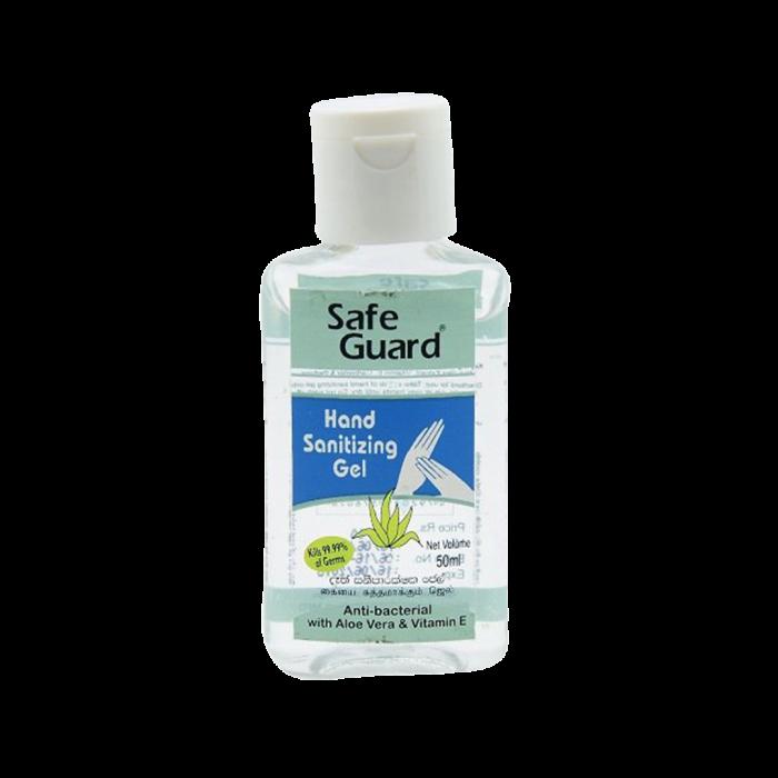 SAFE GUARD HAND SANITIZING GEL 50 ML