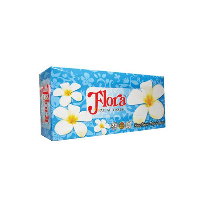 FLORA FACIAL TISSUES 160S