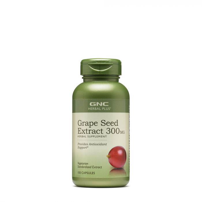 GNC GRAPE SEED EXTRACT 300MG 100S 181012