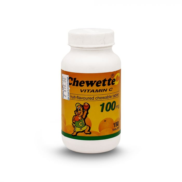 CHEWETTE 100MG 150S