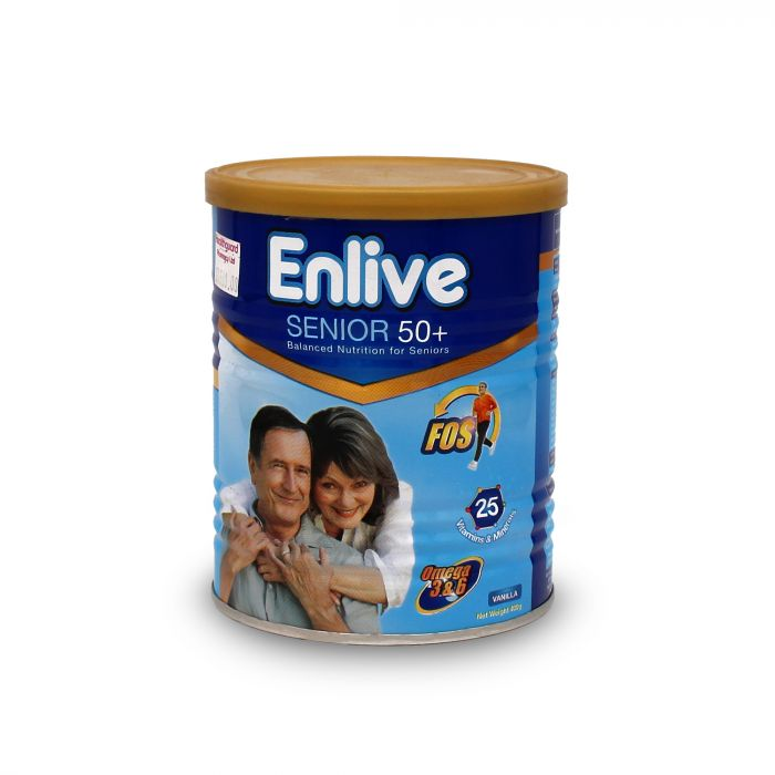 ENLIVE SENIOR 50 PLUS 400G
