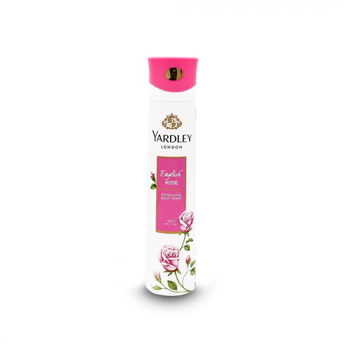 YARDLY  ENGLISH ROSE BODY SPRAY WOMEN 15