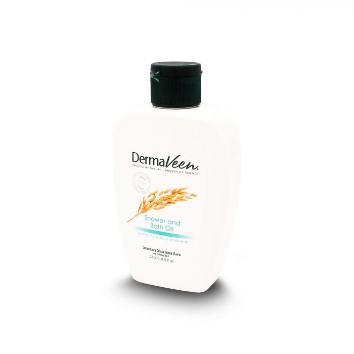 DERMAVEEN SHOWER & BATH OIL 250ML