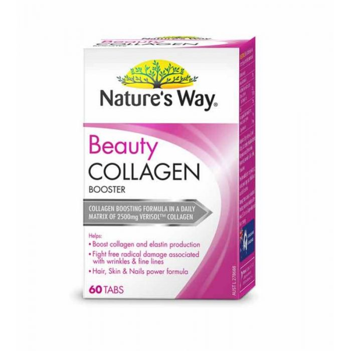 NATURES WAY BEAUTY COLLAGEN BOOSTER 60TB