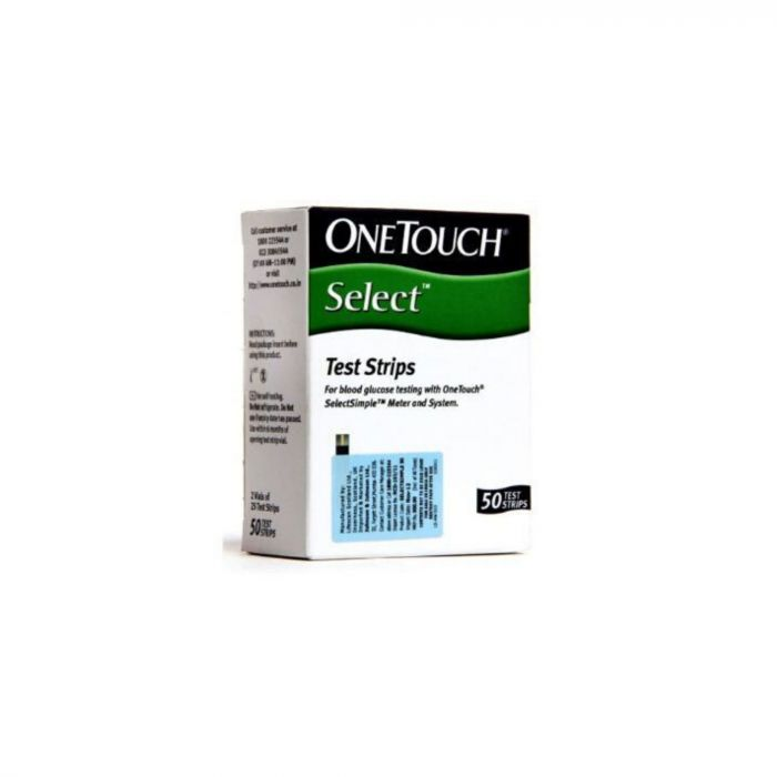 ONE TOUCH SELECT SIMPLE GLUCOSE TEST STRIPS 50S