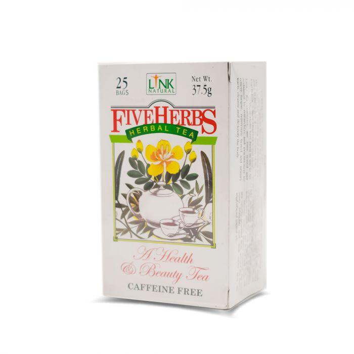LINK FIVE HERBS TEA BAGS 37.5G  25 S