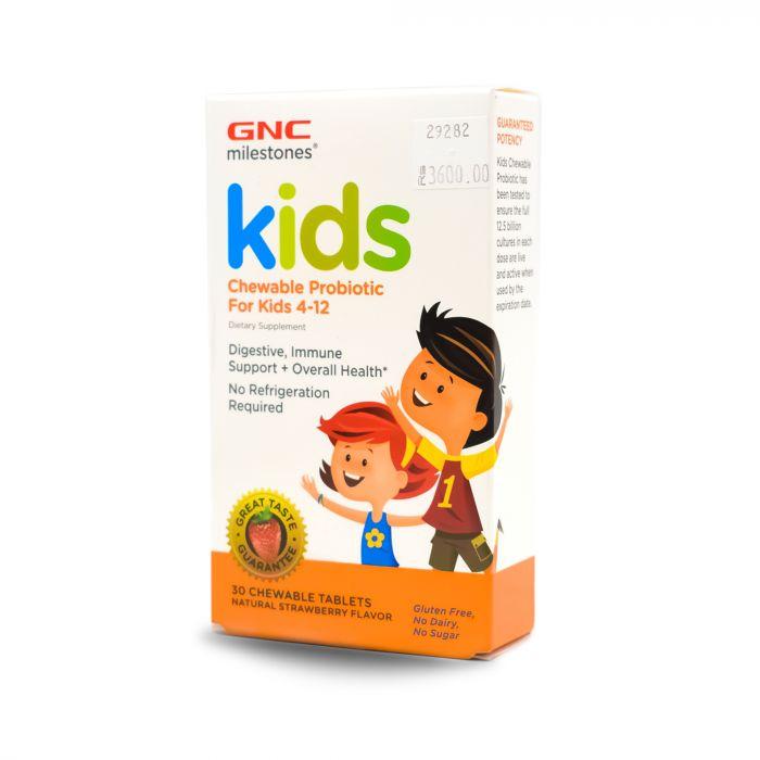 GNC KIDS CHEWABLE PROBIOTIC 30S