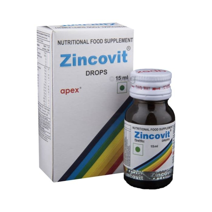 ZINCOVIT DROPS 15ML
