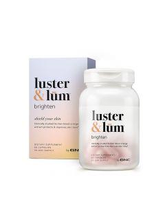 GNC LUSTER & LUM  BRIGHTEN CAP 60S