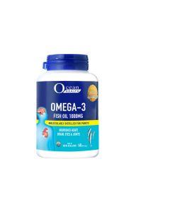 OCEAN HEALTH OMEGA-3 FISH OIL 1000MG 60S