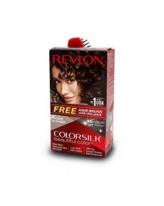 REVLON  COLOR SILK  3D BROWN BLACK 2N