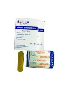SOFTA FIRST AID PLASTER 20S SQ4050