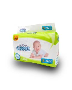 VELONA BABY DIAPERS JUMBO SMALL 36PCS
